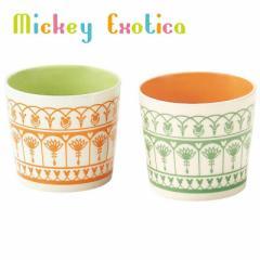 ミッキーマウス ペアマグカップ ペアマルチカップ2個セット エキゾチカシリーズ ディズニー キャラクター グッズ