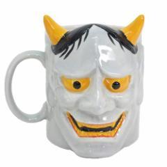 マグカップ 陶器製マグカップ 般若 ギフト食器通販