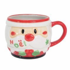 Xmas クリスマス マグカップ 陶器製ミニコップ ジャストサンタ パーティー用品 グッズ