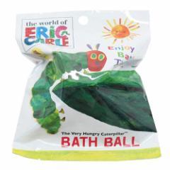 はらぺこあおむし 入浴剤 マスコットが飛び出るバスボール 2nd エリック・カール 絵本キャラクター グッズ