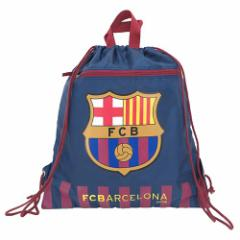 FCバルセロナ キッズリュック ナイロンナップサック バルサ 2nd サッカー 男の子向けグッズ メール便可