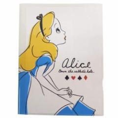 ふしぎの国のアリス ファイル 10ポケット A4クリアファイル 82943 ディズニー キャラクター グッズ