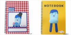 みいつけた リングノート A5横罫ノート コッシー NHK キャラクターグッズ メール便可