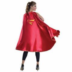送料無料 スーパーマン ハロウィン コスプレ 衣装 DX SUPERMAN CAPE スーパーマン マント 大人用 アメコミ