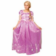 送料無料 塔の上のラプンツェル ハロウィン コスプレ 衣装 女性用 ドレス ディズニー プリンセス キャラクターグ