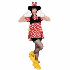 50%OFF 送料無料 ミニーマウス ハロウィン コスプレ 衣装 女性用 もこもこ コスチューム セッ ディズニー キャラクター SALE 4/19朝10時