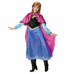 送料無料 アナと雪の女王 ハロウィン コスプレ 衣装 女性用 コスチューム セット アナ ディズニー キャラクターグッズ