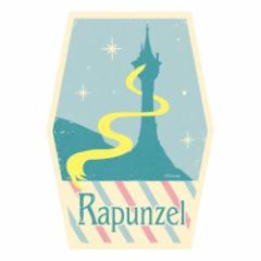 塔の上のラプンツェル ステッカー トラベル ステッカー 1 キャッスル ディズニープリンセス キャラクターグッズ メー