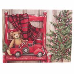 LANG ラング社 クリスマスカード 封筒付きグリーティングカード Bear In Chair カントリー フォークグッズ メール便可