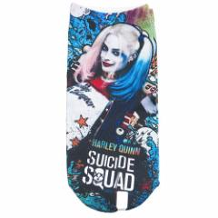 スーサイドスクワッド 女性用靴下 レディースプリントソックス ハーレイクイン DCコミック メール便可