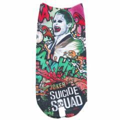 スーサイドスクワッド 女性用靴下 レディースプリントソックス ジョーカー DCコミック キャラクターグッズ メール便可