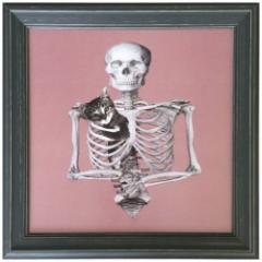 取寄品 送料無料 Jason Laurits インテリア アート インダストリアルスタイル Skeleton 額付き グッズ