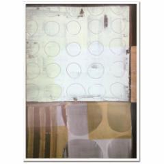 取寄品 送料無料 Ralf Bohnenkamp インテリア アート デザイナーズアート Untitled 2005 額付き抽象画通販