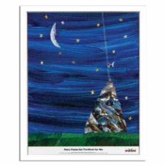 取寄品 送料無料 エリック カール Eric Carle インテリア アート Kids Art PaPa Please Get The Moon For Me 額付