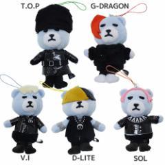 KRUNK × BIGBANG ストラップ ぬいぐるみクリーナーマスコット BANG BANG BANG ビッグバン キャラクター グッズ