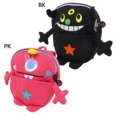 MONSTER GRONK 赤ちゃんデイパック ベビーリュック ブラック ピンク かわいい グッズ