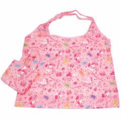 マイメロディ エコバッグ 折りたたみショッピングバッグ ピンク サンリオ キャラクターグッズ メール便可