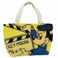 ミッキーマウス 保冷ランチトート ミニトートバッグ サガラ刺繍 ディズニー キャラクター グッズ