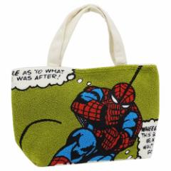 スパイダーマン 保冷ランチトート ミニトートバッグ サガラ刺繍 マーベル キャラクター グッズ