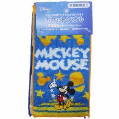 ミッキーマウス 幼稚園はんかちタオル ポケットタオル2枚セット レインボースター ディズニー キャラクターグッズ メ