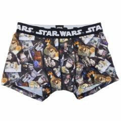 スターウォーズ 男性用下着 転写 メンズボクサーパンツ チラシ STAR WARS キャラクターグッズ メール便可