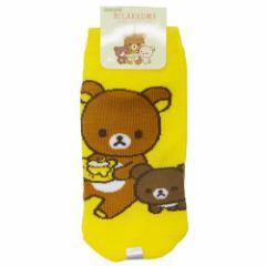 リラックマ 子供 用 靴下 キッズ ソックス リラックマとチャイロイコグマ サンエックス キャラクターグッズ メール便