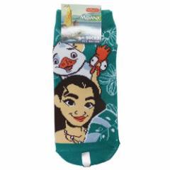 モアナと伝説の海 女性用靴下 レディースソックス モアナと動物たち ディズニー キャラクターグッズ メール便可