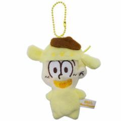 おそ松さん×サンリオ コインケース ぬいぐるみ ダイカット小銭入れ 十四松×ポムポムプリン サンリオ キャラクターグッズ通