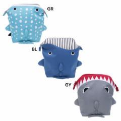 papupi 海キャラ三兄弟 ベビーリュック ワイヤー プチリュック ジンベエザメ くじら サメ かわいいおでかけ かばん通販