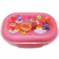 アンパンマン お弁当箱 フォーク付き ランチボックス ピンク キャラクター グッズ
