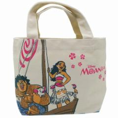 モアナと伝説の海 ランチバッグ マチ付きコットンバッグディズニー キャラクター グッズ