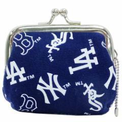 MLB 小銭入れ ミニがま口 コインケース ミックス 野球グッズ メール便可