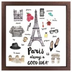 取寄品 送料無料 インテリア パネル キャンバス アート パリ Good idea Series Paris インテリア グッズ