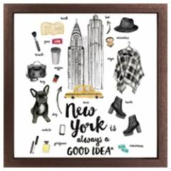 取寄品 送料無料 インテリア パネル キャンバス アート ニューヨーク Good idea Series NewYork インテリアグッズ通