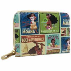 モアナと伝説の海 レディース 財布 2つ折り ウォレットディズニー キャラクター グッズ