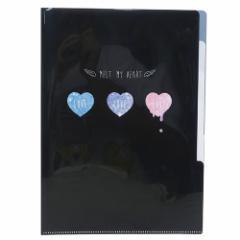 Shiny Dream ファイル 5インデックスA4クリアファイル MELT MY HEART 文具グッズ メール