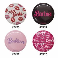 Barbie バービー人形 缶バッジ 44mmカンバッジ キャラクターグッズ メール便可