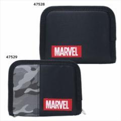 MARVEL ジュニアウォレット 二つ折り 財布 ロゴ マーベル キャラクター グッズ