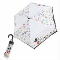 ミッキー&ミニー 折畳傘 折りたたみ傘 フレンズ ディズニー キャラクター グッズ