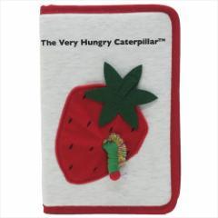 はらぺこあおむし 母子手帳ケース マルチケース いちご エリックカール 絵本キャラクターグッズ メール便可