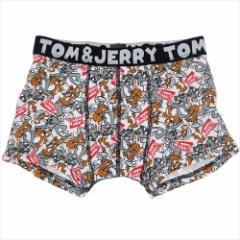 トムとジェリー 男性用 下着 メンズ ボクサー パンツ アメリカンロゴ キャラクターグッズ メール便可