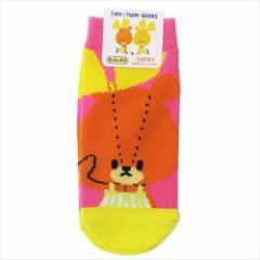 がんばれルルロロ 子供用 靴下 キッズ ソックス ルルアップ キャラクターグッズ メール便可