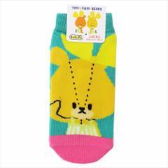 がんばれルルロロ 子供用 靴下 キッズ ソックス ロロアップ キャラクターグッズ メール便可