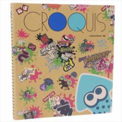 スプラトゥーン2 お絵かき帳 クロッキーブック グラフィティ nintendo キャラクターグッズ メール便可