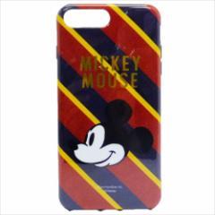 ミッキーマウス iPhone 8 Plus ケース アイフォン8プラス ソフトカバーディズニー キャラクターグッズ メール便可