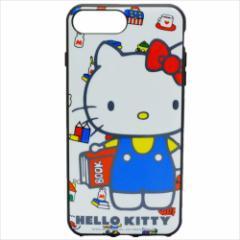 ハローキティ iPhone 8 Plus ケース アイフォン8プラス プロテクトカバーサンリオ キャラクターグッズ メール便可