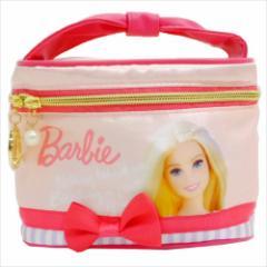 バービー 化粧品ケース サテンバスティポーチ ライトピンク2017 Barbie キャラクター グッズ