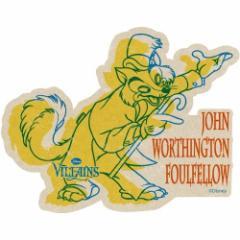 ピノキオ ステッカー トラベルステッカー 15 ジョンワシントンファウルフェロー ディズニーヴィランズ メール便可