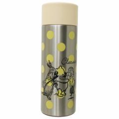 くまのプーさん 保温保冷水筒 直飲みステンレスマグボトル クラシックプー カラードット ディズニー キャラクター グッズ