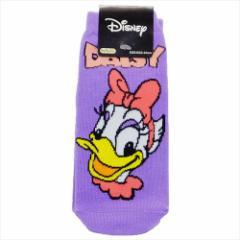 デイジーダック 女性用 靴下 レディース ソックス レトロ ディズニー キャラクターグッズ メール便可